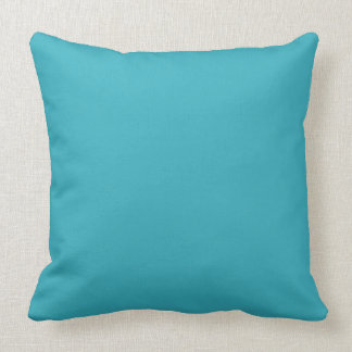 Triboro Blue-Electric Blue-Uptown Girl-Designer Throw Pillow