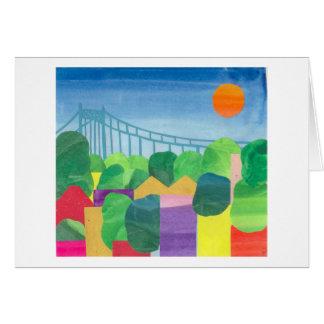 Tribrough Bridge in Summer Cards