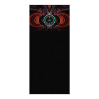 Tribunal Abstract Fractal Artwork Customized Rack Card