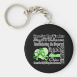 Tribute Hope Collage - Non-Hodgkins Lymphoma Keychain