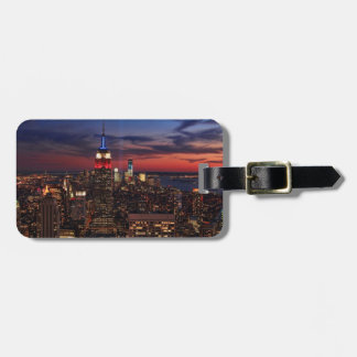 Tribute In Light Sept 11, World Trade Cntr ESB #2 Luggage Tag