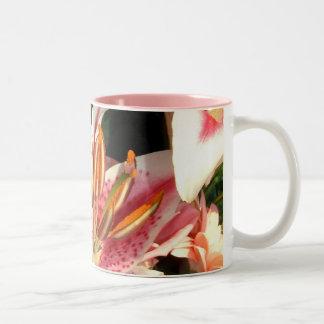 Tribute Lilies  No. 2| Two-Tone Mug