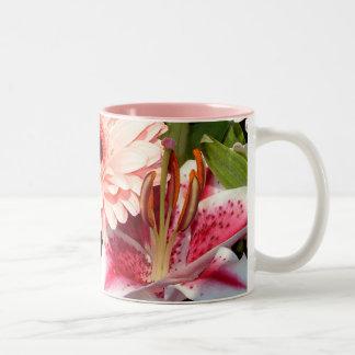 Tribute Lilies | Two-Tone Mug