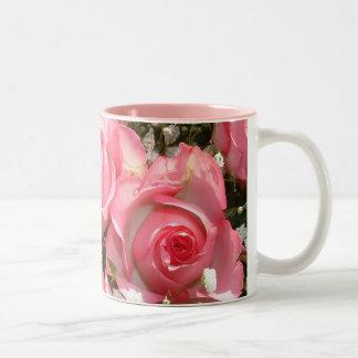 Tribute Roses | Two-Tone Mug