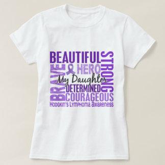 Tribute Square Daughter Hodgkins Lymphoma T-Shirt