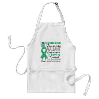 Tribute Support Liver Cancer Awareness Aprons