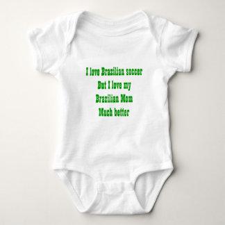 Tribute to a brazilian mom baby bodysuit
