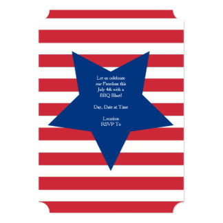Tribute To Freedom July 4th Party Invitation
