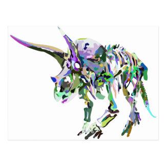 triceratops4 postcard