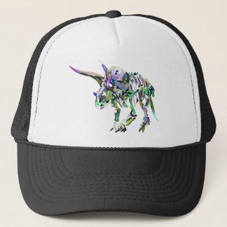 triceratops4 trucker hat