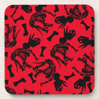 Triceratops bones coasters