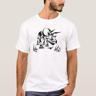 Triceratops by Fossil Shack T-Shirt