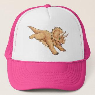 Triceratops cartoon cap