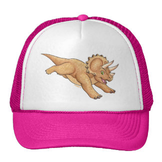 Triceratops cartoon cap