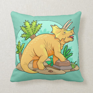 Triceratops Cushion