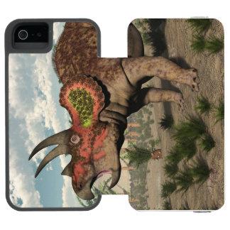 Triceratops dinosaur - 3D render Incipio Watson™ iPhone 5 Wallet Case