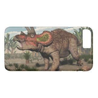 Triceratops dinosaur - 3D render iPhone 8 Plus/7 Plus Case