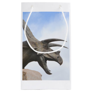 Triceratops Dinosaur Small Gift Bag