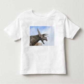 Triceratops Dinosaur Toddler T-Shirt