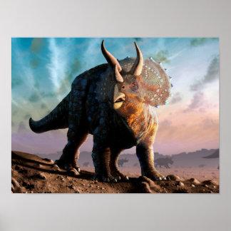Triceratops Horridus Poster