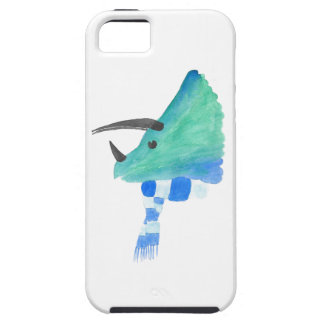 Triceratops In A Scarf iPhone 5 Covers