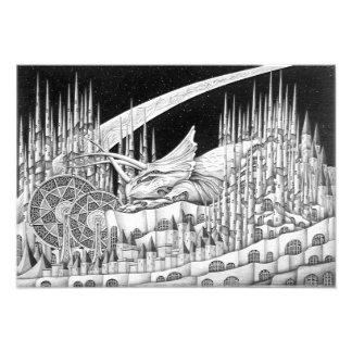 Triceratops Photo Print