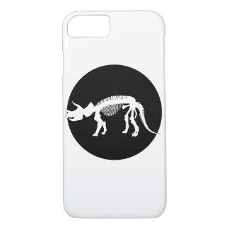 Triceratops skeleton iPhone 8/7 case