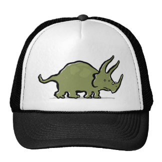 triceratops wearing glasses cap
