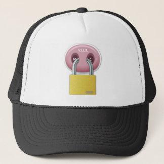 trick cherry Cap V.I.L.T logo