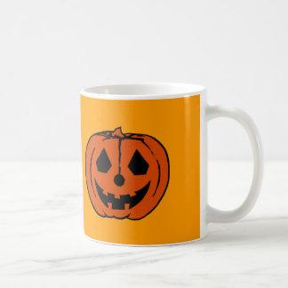 TRICK MY TREAT PUMPKIN PAL (Jack-O-Lantern 1) ~ Basic White Mug