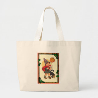 Trick or treat at Halloween Tote Bags