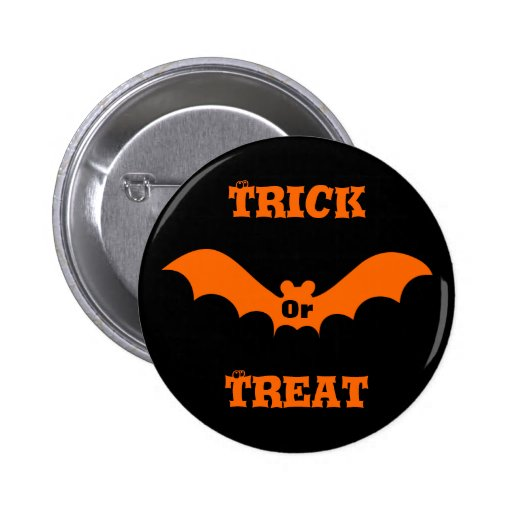 Trick Or Treat Buttons