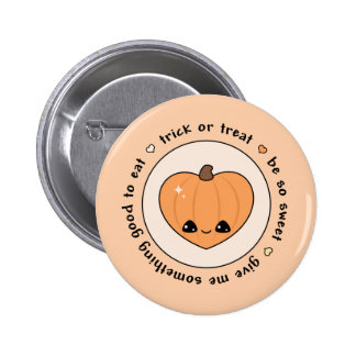 Trick or Treat Pinback Button