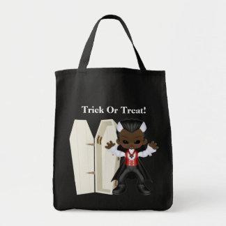 Trick Or Treat Bag Grocery Tote Bag