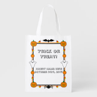 Trick or Treat Bag Grocery Bag