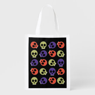 Trick or Treat Bag - Silly Skulls