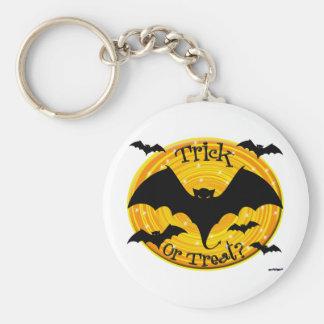 Trick Or Treat? Bats Keychain