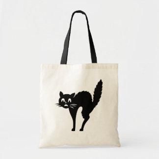 Trick or Treat Black Cat Halloween Bag