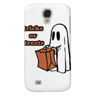 Trick or treat - Boo - cartoon ghost - baby ghost Samsung Galaxy S4 Case