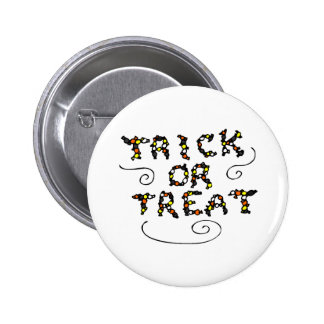 Trick or Treat Candy Button