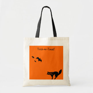 Trick or Treat Candy Bag Halloween Tote
