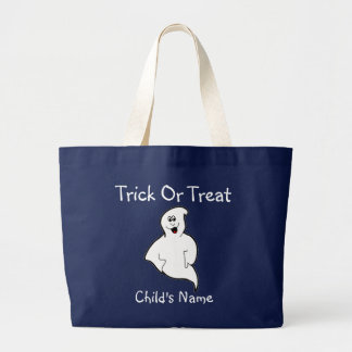 Trick or Treat Candy Bag Personalized Template