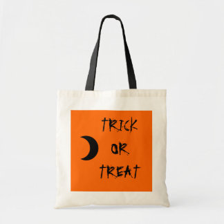 Trick or Treat Candy Bag with Moon