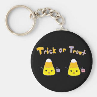 Trick or Treat Candy Corn Key Chain