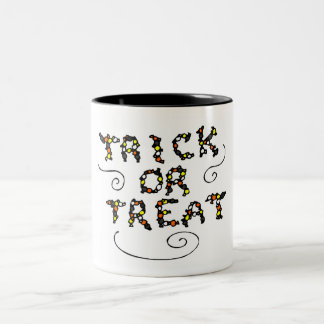 Trick or Treat Candy Mug