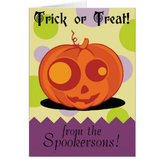Trick or Treat! Greeting Card