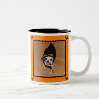 Trick or Treat Chihuahua Halloween Coffee Mug