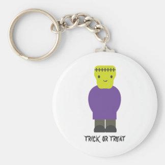 Trick or Treat- Cute Frankenstein Keychains