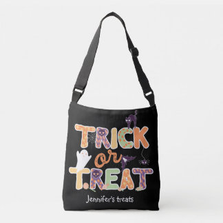 Trick or treat Cute Ghost Halloween Crossbody Bag