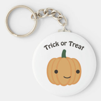 Trick or treat - Cute Pumpkin Keychain